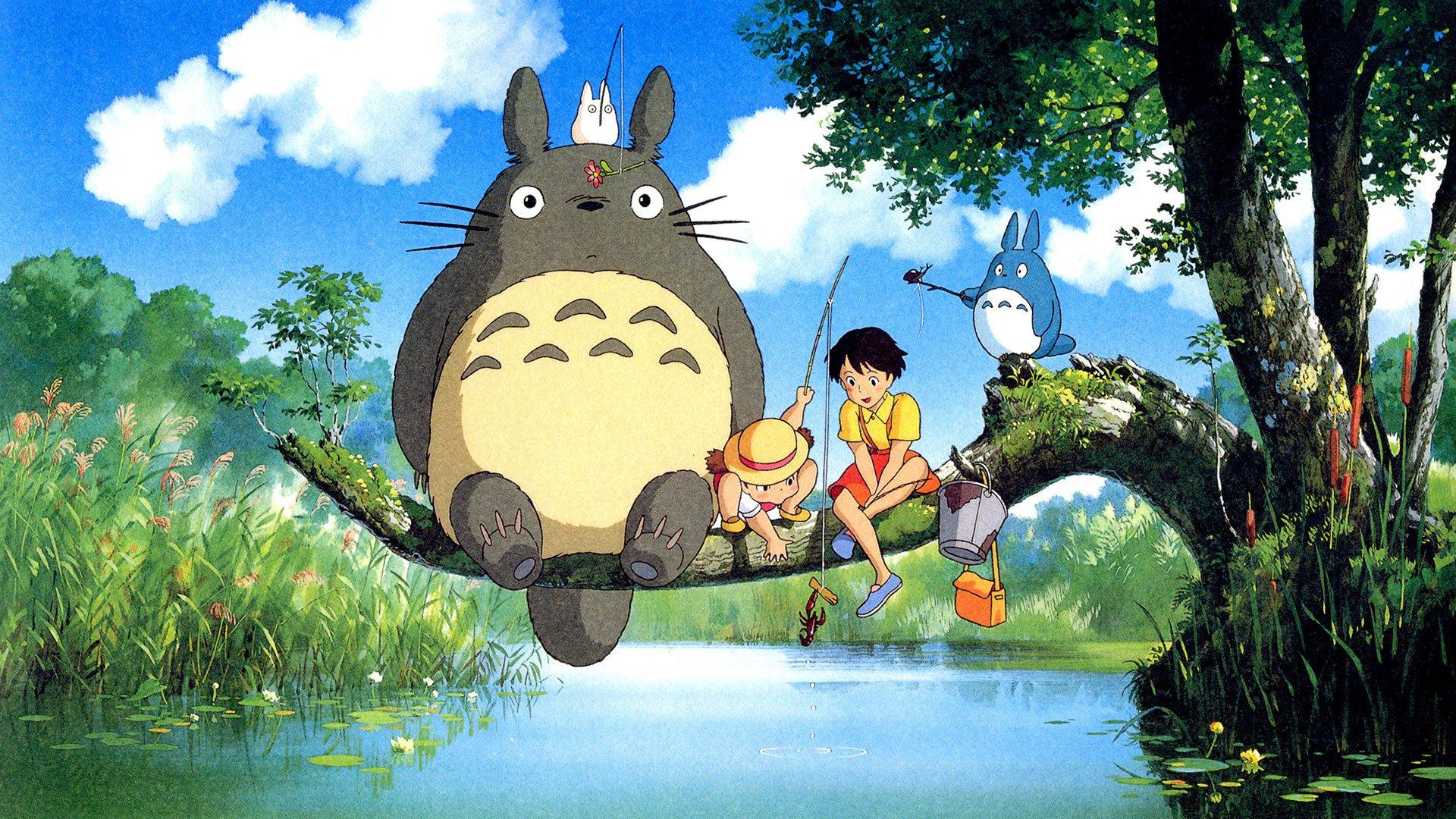 Phim anime hay Hàng xóm của tôi là Totoro