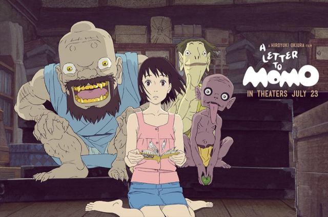 Phim anime hay Lá Thư Gửi Momo (A Letter To Momo)